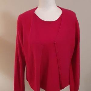 Valerie Steven's cashmere sweater set 0333c